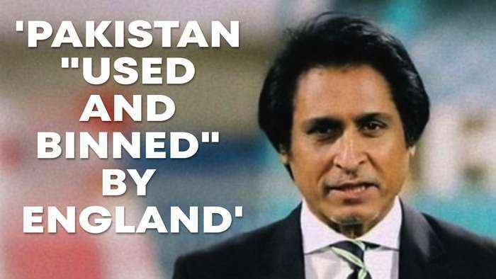 Pakistan 'used and binned' by England: Ramiz Raja