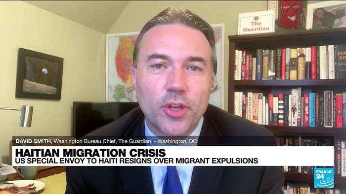 US special envoy to Haiti resigns, slams migrant deportations