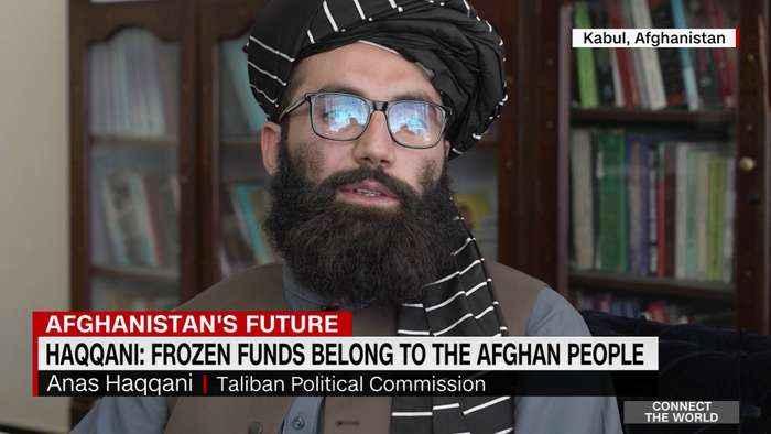 Taliban spokesman responds to Biden's move to freeze billions
