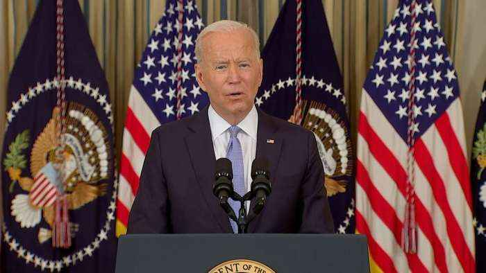 Biden says scene at the southern boarder is 'horrible'