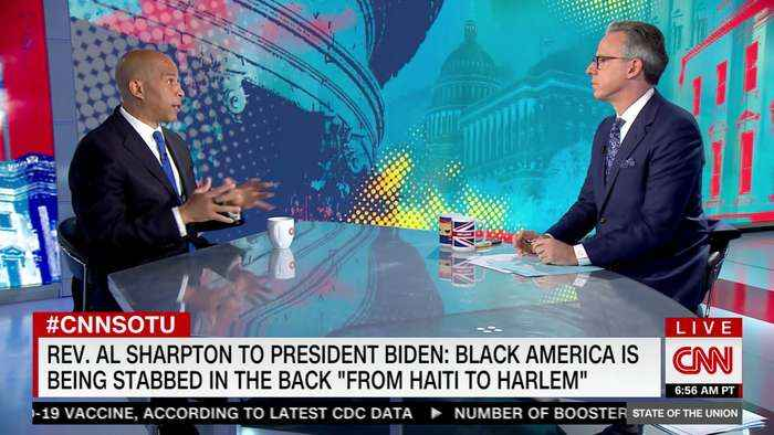 Booker: Biden has 'one of the best' records on Black issues of any president