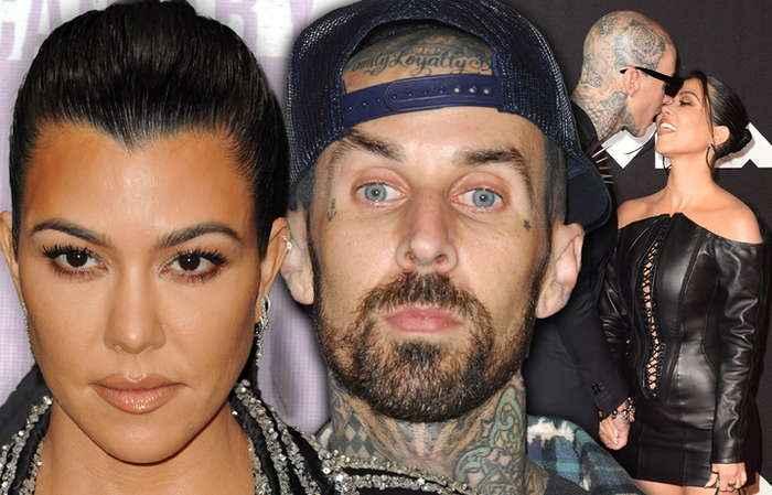 Kourtney Kardashian & Travis Barker Engaged After He Proposes In Montecito