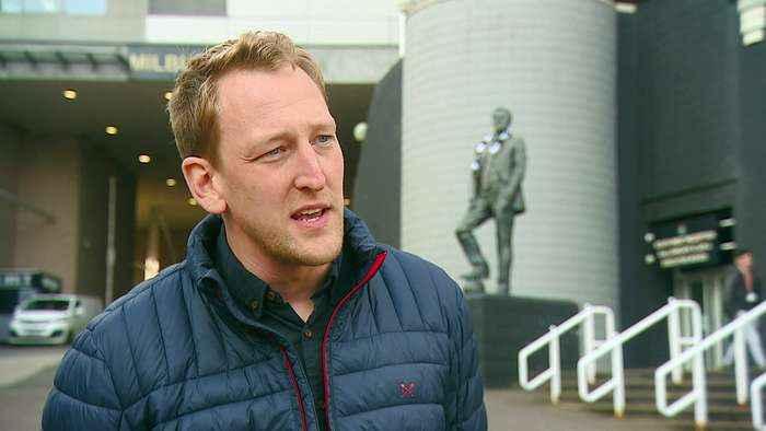 Doctor describes saving the life of fellow Newcastle Utd fan