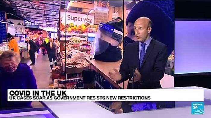 Don't panic, says UK govt, despite soaring Covid-19 rates
