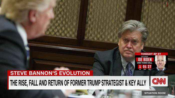 The rise, fall, and return of Steve Bannon