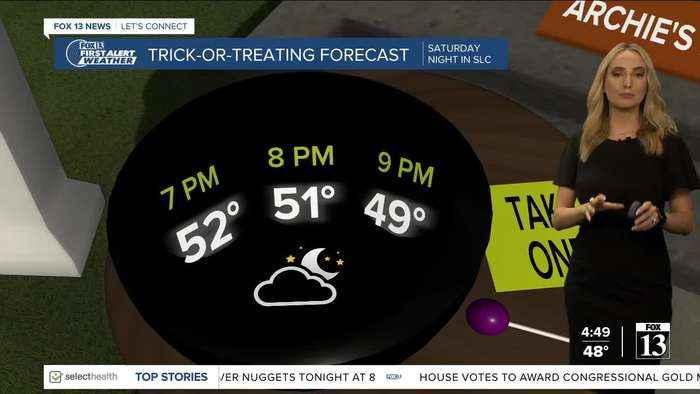 Early Halloween forecast looks promising - Oct. 26