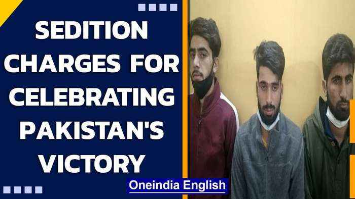 Yogi govt declares celebrating Pak win is sedition; 3 J&K students arrested in Agra | Oneindia News