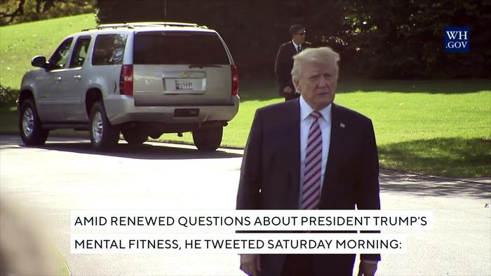 Trump: I Am A 'Very Stable Genius,' One Of My - One News ...
