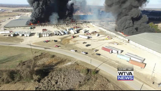 Fire Continues At Pontotoc County Plant One News Page