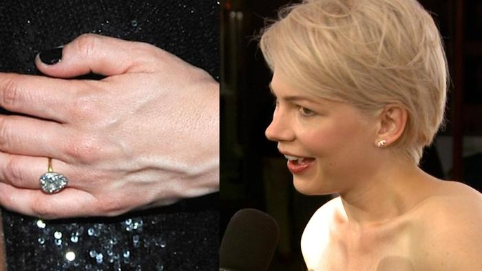 Michelle Williams Has ... Michelle Williams Engaged