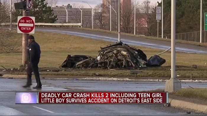 Child Killed In Car Accident In Detroit