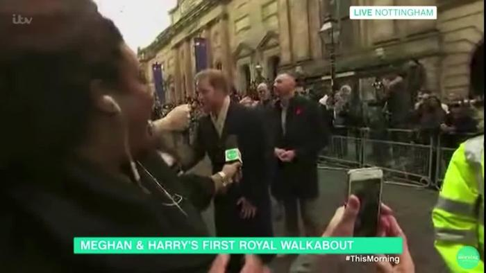Prince Harry Swerves Alison Hammond Live One News Page