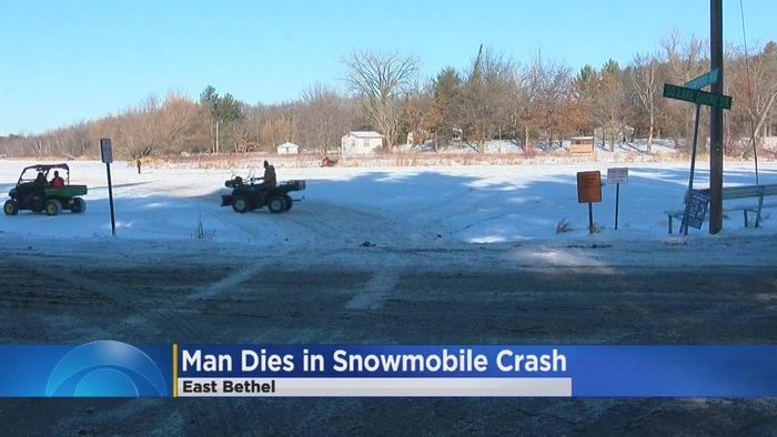 Man Cave East Bethel : Man killed in east bethel snowmobile crash one news