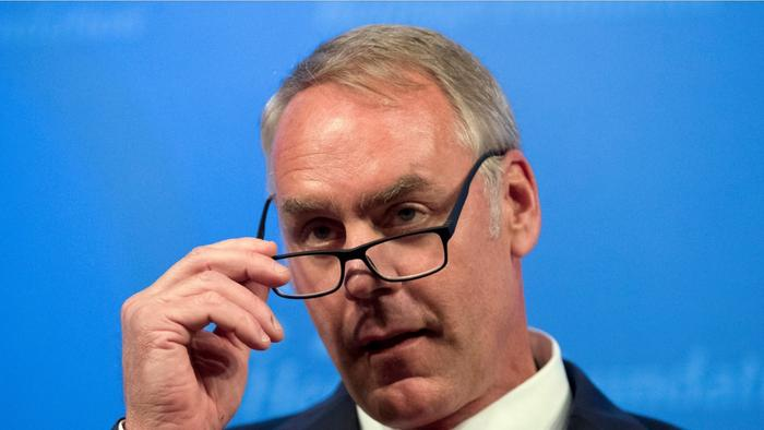 Interior Secretary Did Not Disclose Shares On One News Page Video