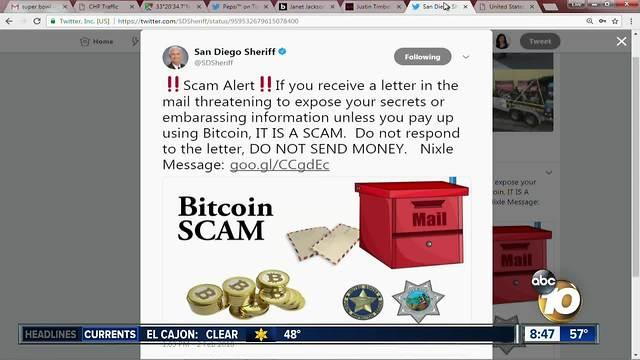 Sheriff's Department warns abqout Bitcoin scam - One News ...