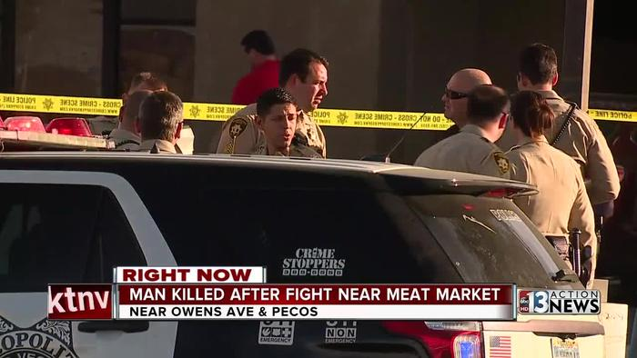 Man killed after fight inside meat market