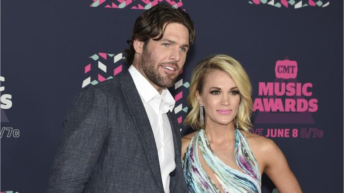 Carrie underwood supported husband 39 s decision to one for Who is carrie underwood married too