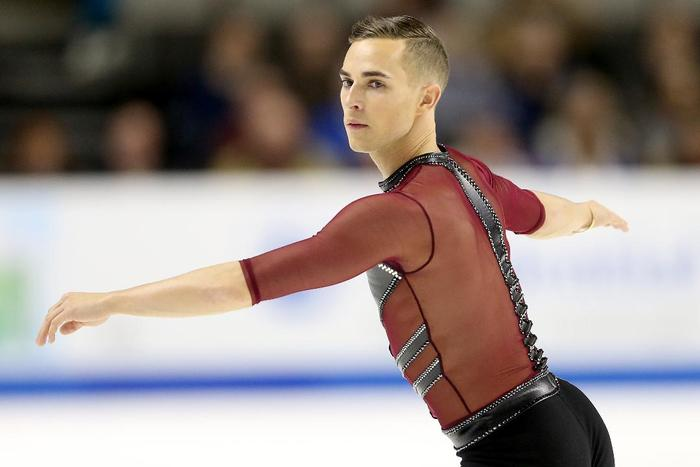 "rippon single gay men United states men's figure skater adam rippon ""growing up and meeting other gay people, you meet so many different people and their circumstances are so."