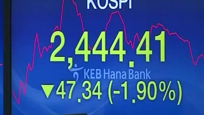 U.S. Yields Rise, Asian Shares At 6 Week Low - One News ...