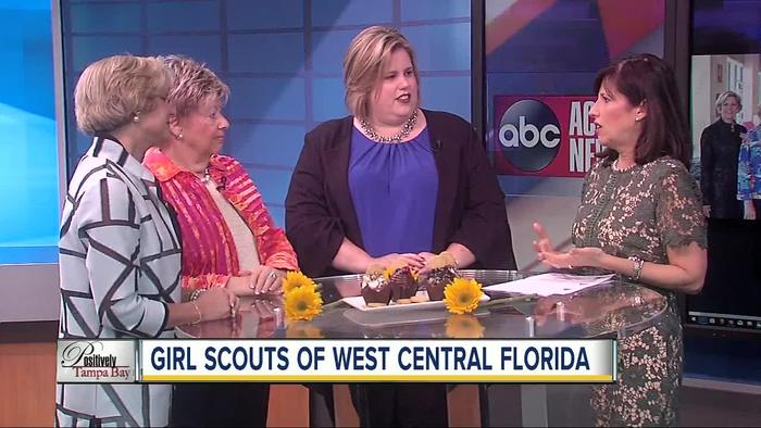 positively tampa bay girl scouts part ii   one news page