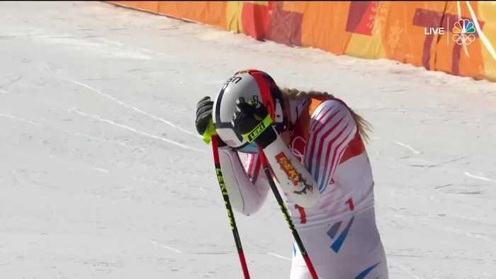 News video: Vonn Places 6th In First Olympic Ski Event