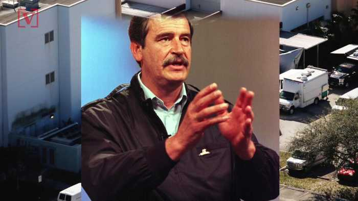 News video: Former Mexican President Says School Shooting is 'What You Get' When You Have A President Like Trump