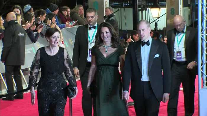 News video: Will and Kate attend the BAFTA ceremony