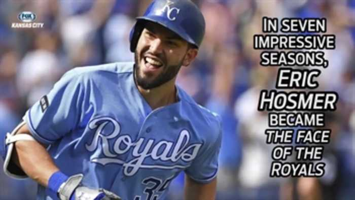 News video: Eric Hosmer's incredible run with the Royals
