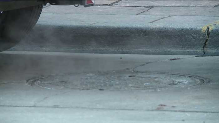 News video: Toddler Gets Second Degree Burns from Steam Coming Out of Manhole