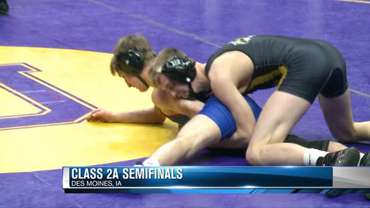State Wrestling Semifinals - Friday - One News Page VIDEO