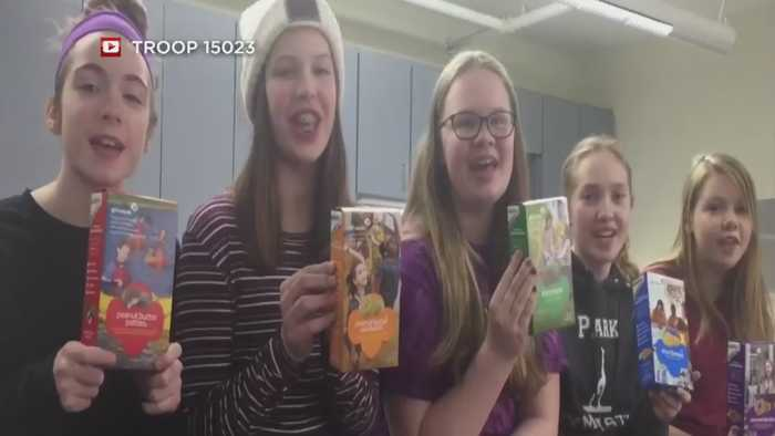 News video: South Minneapolis Diner Creates Girl Scout Cookie Competition