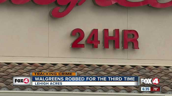 News video: Walgreens Robbed For The Third Time