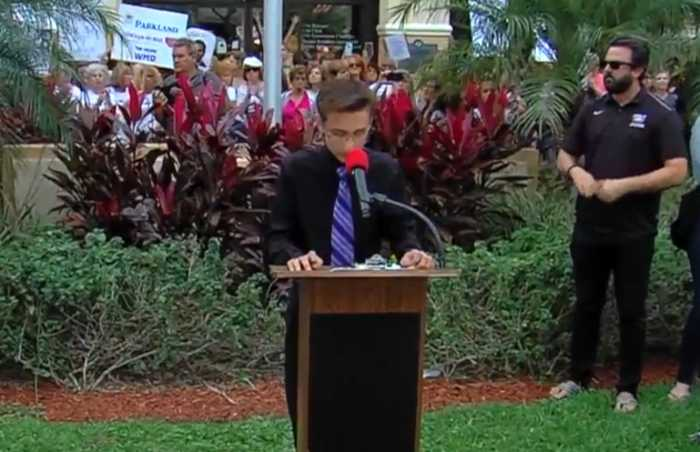 News video: Students call for change after Parkland