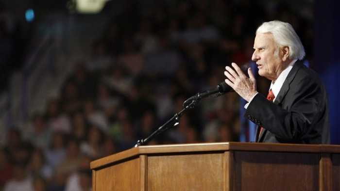 News video: Leaders React To The Death Of Evangelist Billy Graham