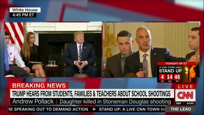"""News video: """"I'm Pissed"""": Parkland Father Calls on Trump to Fix School Security"""