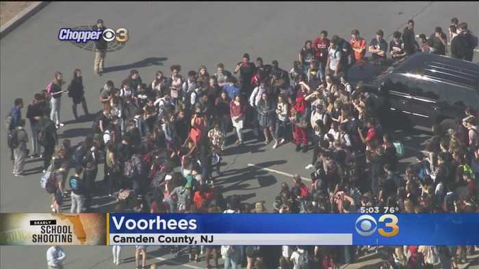 News video: South Jersey Students Stage Walkout To Raise Awareness About Gun Violence
