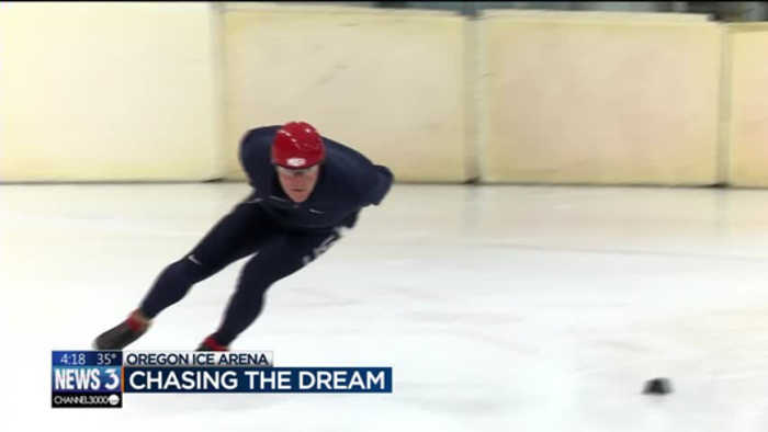News video: Chasing the Dream: Local former Olympian trains skaters