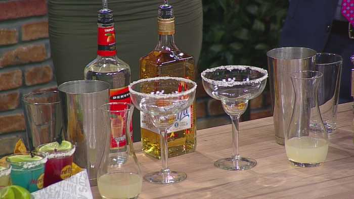 News video: Shake It Up, It's National Margarita Day