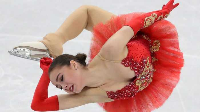 News video: Russian figure skater wins OAR's first Olympic gold at Pyeongchang Games