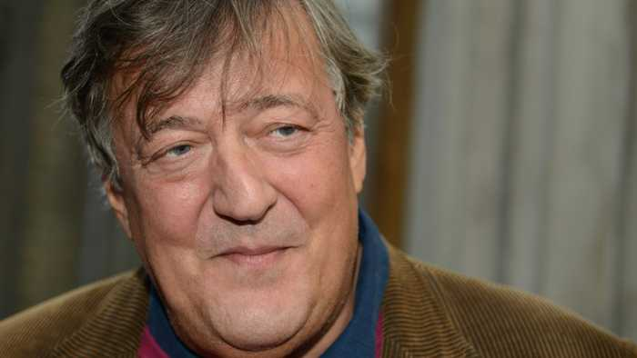 News video: How Stephen Fry Describes His Battle With This Frightening Health Condition