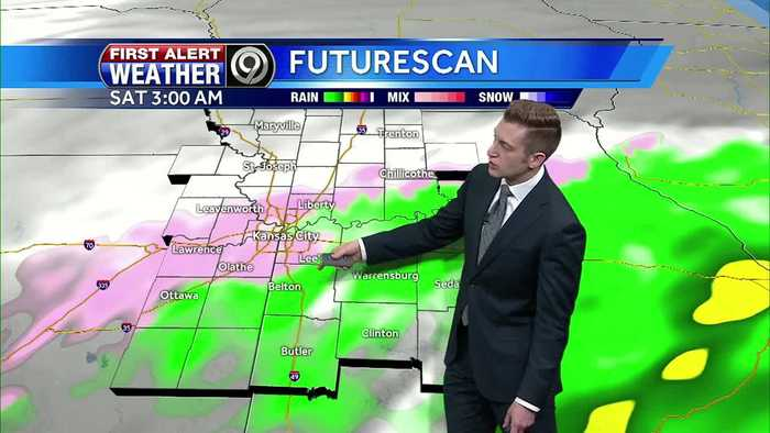News video: First Alert: Temps above freezing Friday