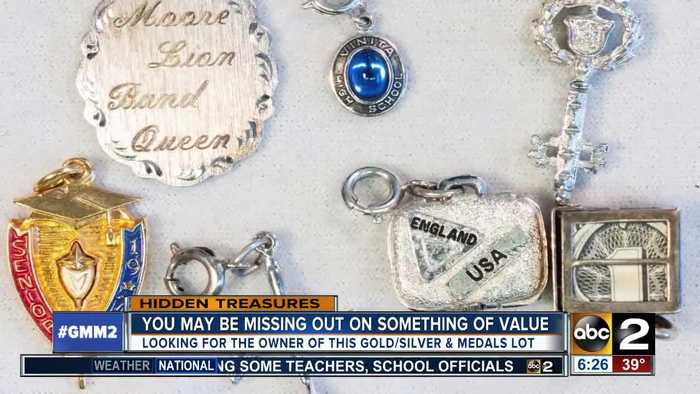 News video: Do these medals and gemstones belong to you?