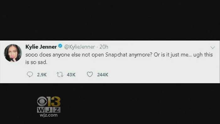 News video: Snapchat Stock Loses $1.3 Billion After Kylie Jenner Tweet