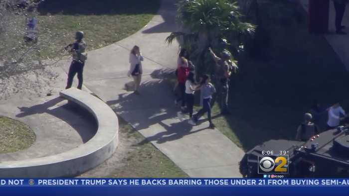 News video: Deputy Stood Idly By At Parkland School Shooting