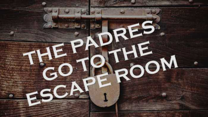 News video: Padres make a team trip to the Escape Room in Arizona