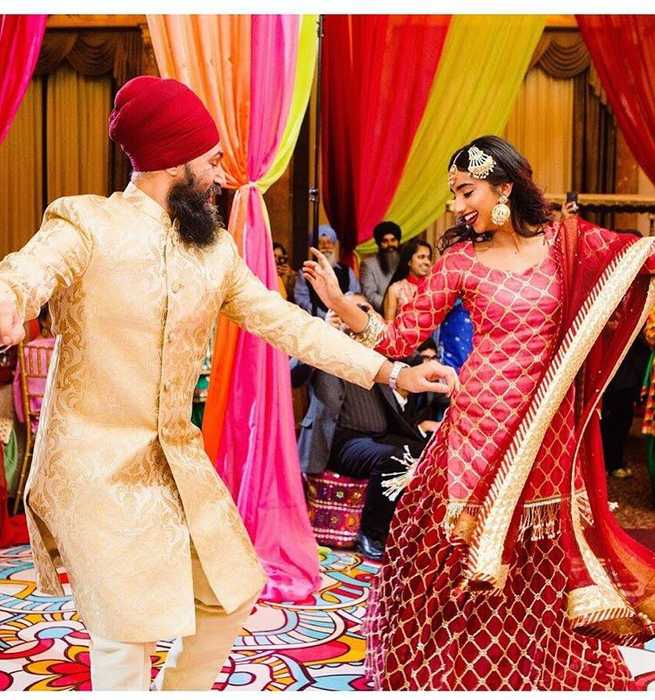 News video: Jagmeet Singh, Gurkiran Kaur Get Married In Toronto And Mexico