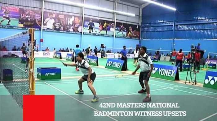 News video: 42ND Masters National Badminton Witness Upsets