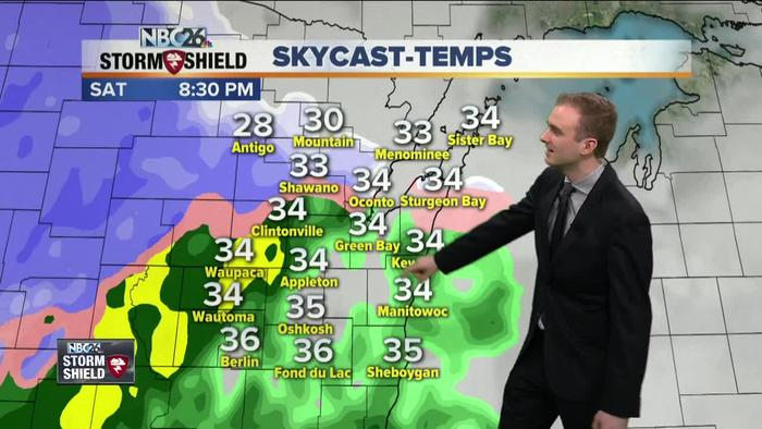 Gino Recchia Nbc26 Storm Shield Weather Forecast One