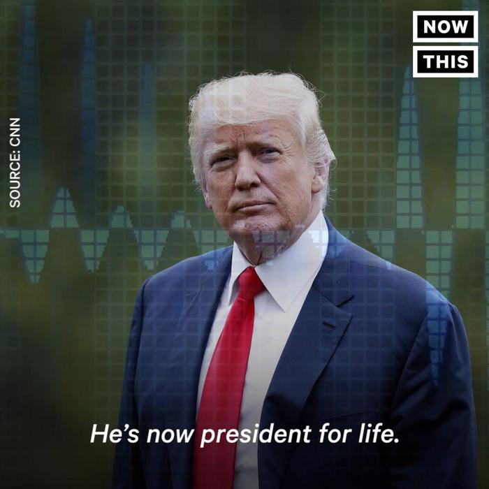 Trump Jokes About Being President For Life - One News Page ...