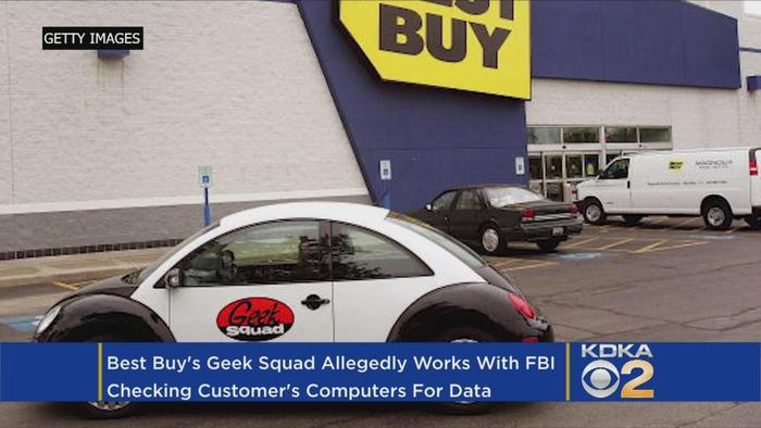 Best Buy's Geek Squad Techs Search Customer - One News ...